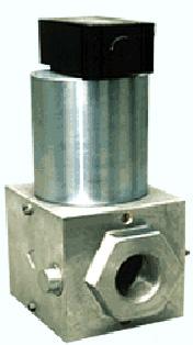 ДПР (КЭГ-9720) клапаны электромагнитные силовые (нормально закрытые)